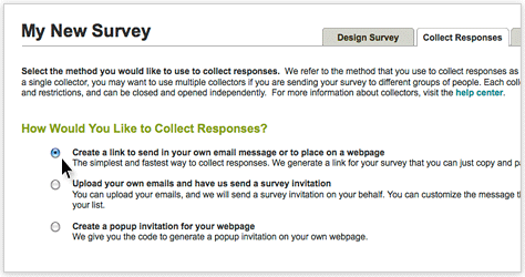 SurveyMonkey - Sit back & relax while we send out your surveys for you.