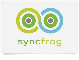 Logotipo de Syncfrog