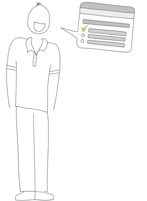 Illustration relative aux évaluations de satisfaction des employés