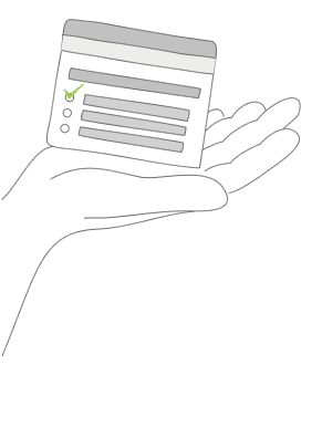 Ilustración de plantillas de encuestas para organizaciones sin fines de lucro