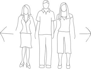 Ilustración del tamaño de la muestra