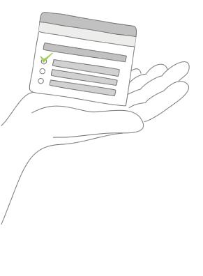 Ilustração de questionários para ONGs